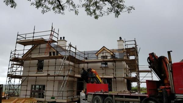 Kinduff House Chimneys