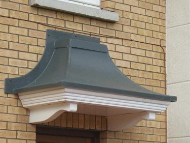 Concave Door Canopies
