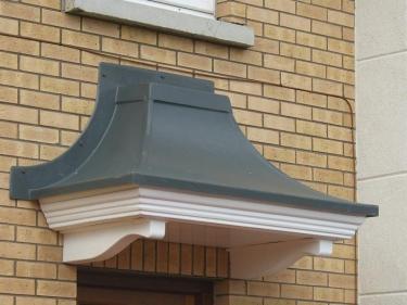 Concave Door Canopies