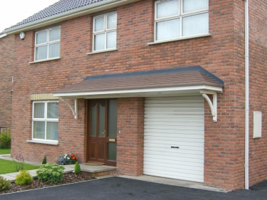 Hipped Door Canopies