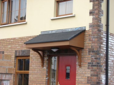 Mono Pitched Door Canopies